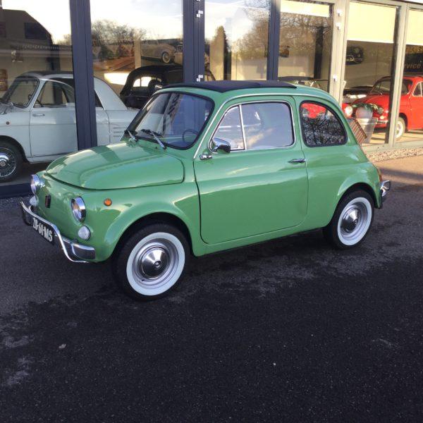 Fiat 500 L limegroen